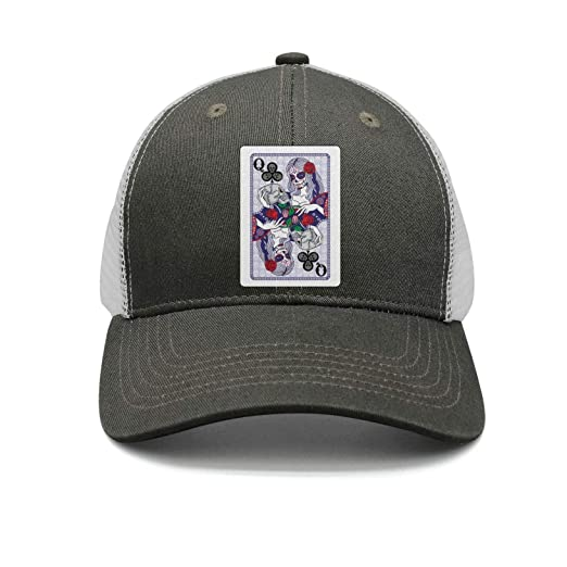 Unisex 100/% Polyester Flowers and Skulls Baseball Cap Adjustable Snapback Hat for Unisex
