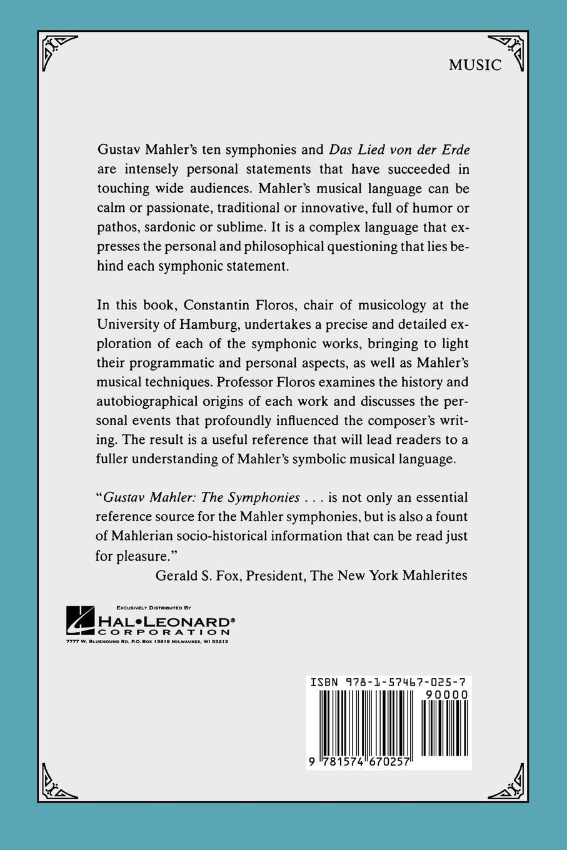 Gustav Mahler: The Symphonies: Constantin Floros, Vernon and Jutta Wicker:  0001574670255: Amazon.com: Books