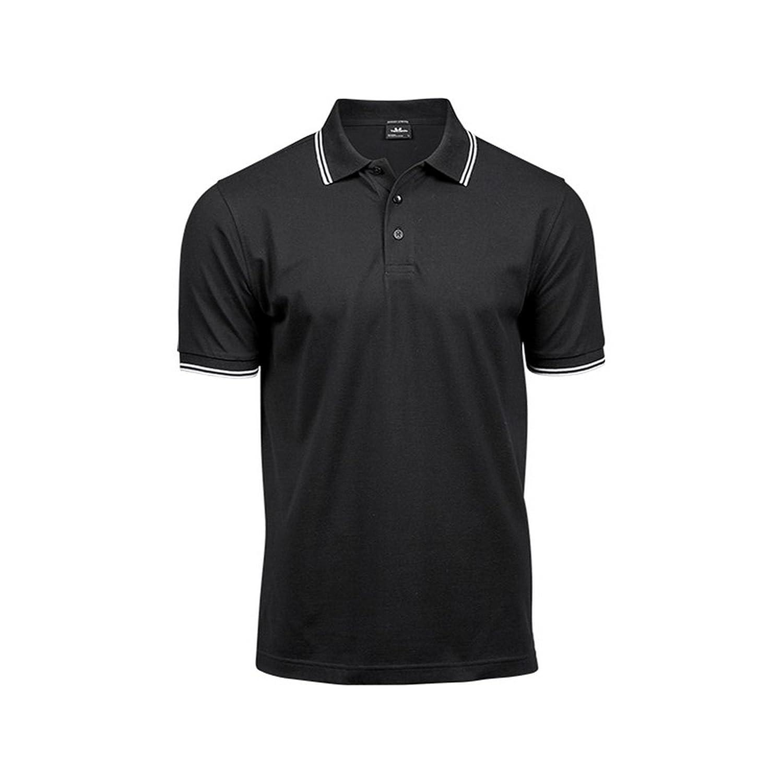 Tee Jays Mens Luxury Fashion Stripe Polo