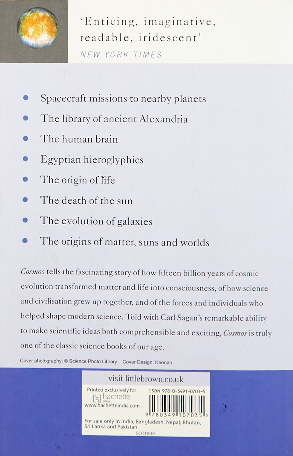 Cosmos: The Story of Cosmic Evolution, Science and