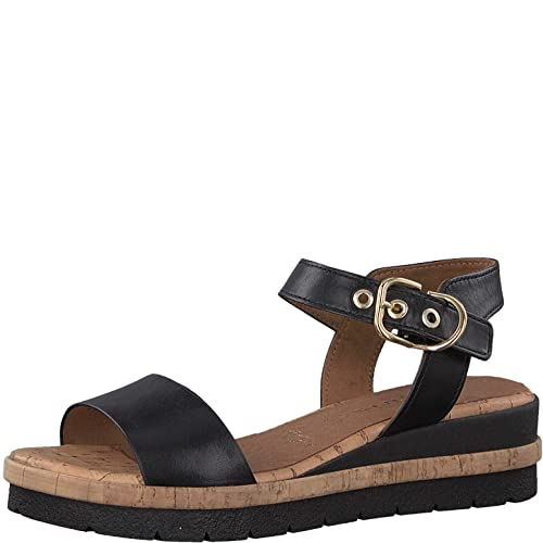 Tamaris 1 1 28222 22 Femme Sandales Plateforme,Sandale,Sandale Plate Forme,Chaussure d'été,Sandale d'été,Confortable,Semelle épaisse,Touch IT