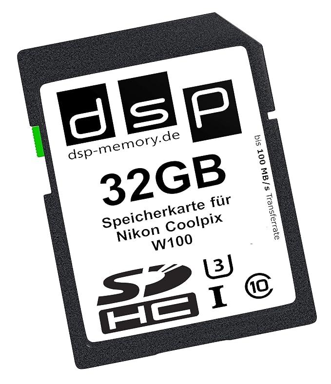 DSP Memory Tarjeta de memoria para Nikon Coolpix W100 128 GB