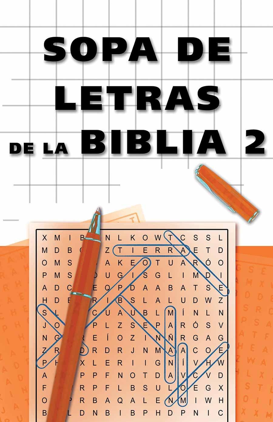 Sopa de letras de la Biblia 2: Bible Word Search 2 (Spanish Edition) pdf epub