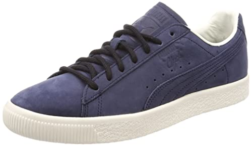 pretty nice 3e32f eb802 Puma Clyde Frosted Trainers Blue: Amazon.co.uk: Shoes & Bags
