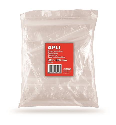 Amazon.com: Apli 13132 – Bolsa de bolsas de celofán ...