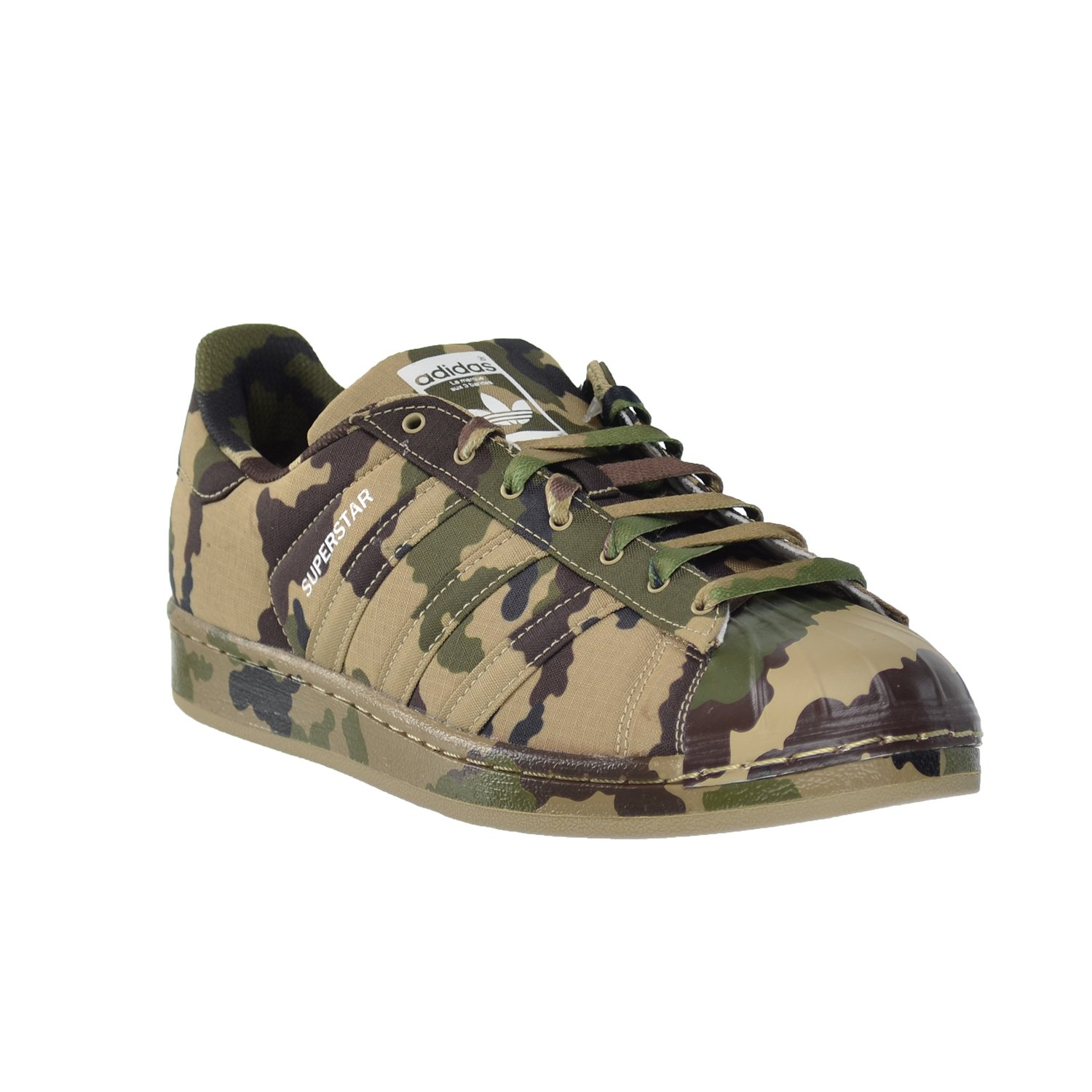 reputable site 809b0 cdf6c Amazon.com   adidas Superstar Graphic Pack Hemp Camo  Black FTW White  b35403 (9.5 D(M) US)   Fashion Sneakers