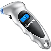 AstroAI Digital Tire Pressure Gauge, Tire Gauge, Air Pressure Gauge 150 PSI 4 Settings for Car Truck Bicycle with…