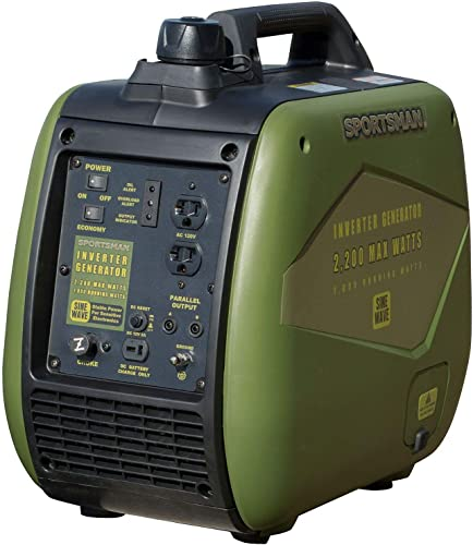 Sportsman 2,200-Watt Gasoline Powered Recoil Start Portable Digital Inverter Generator with Parallel Capability