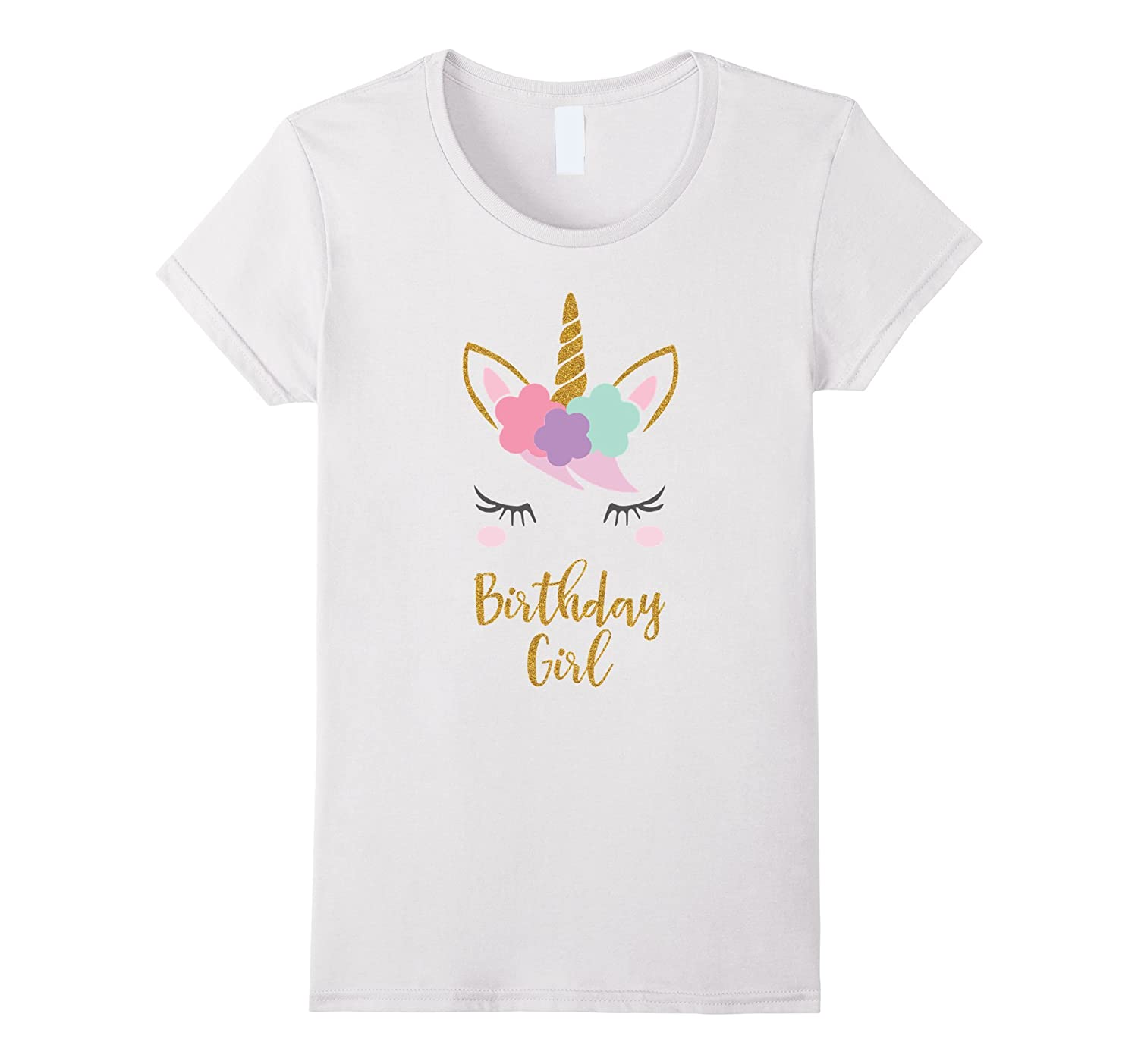 Unicorn Birthday T-Shirt, Unicorn Gift, Birthday Outfit-FL