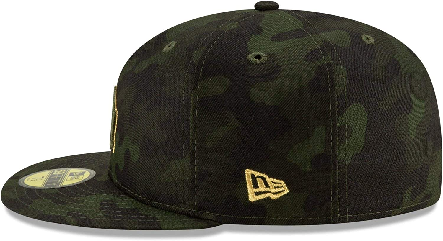Camo New Era Los Angeles Dodgers 2019 MLB Armed Forces Day On-Field 59FIFTY Fitted Hat