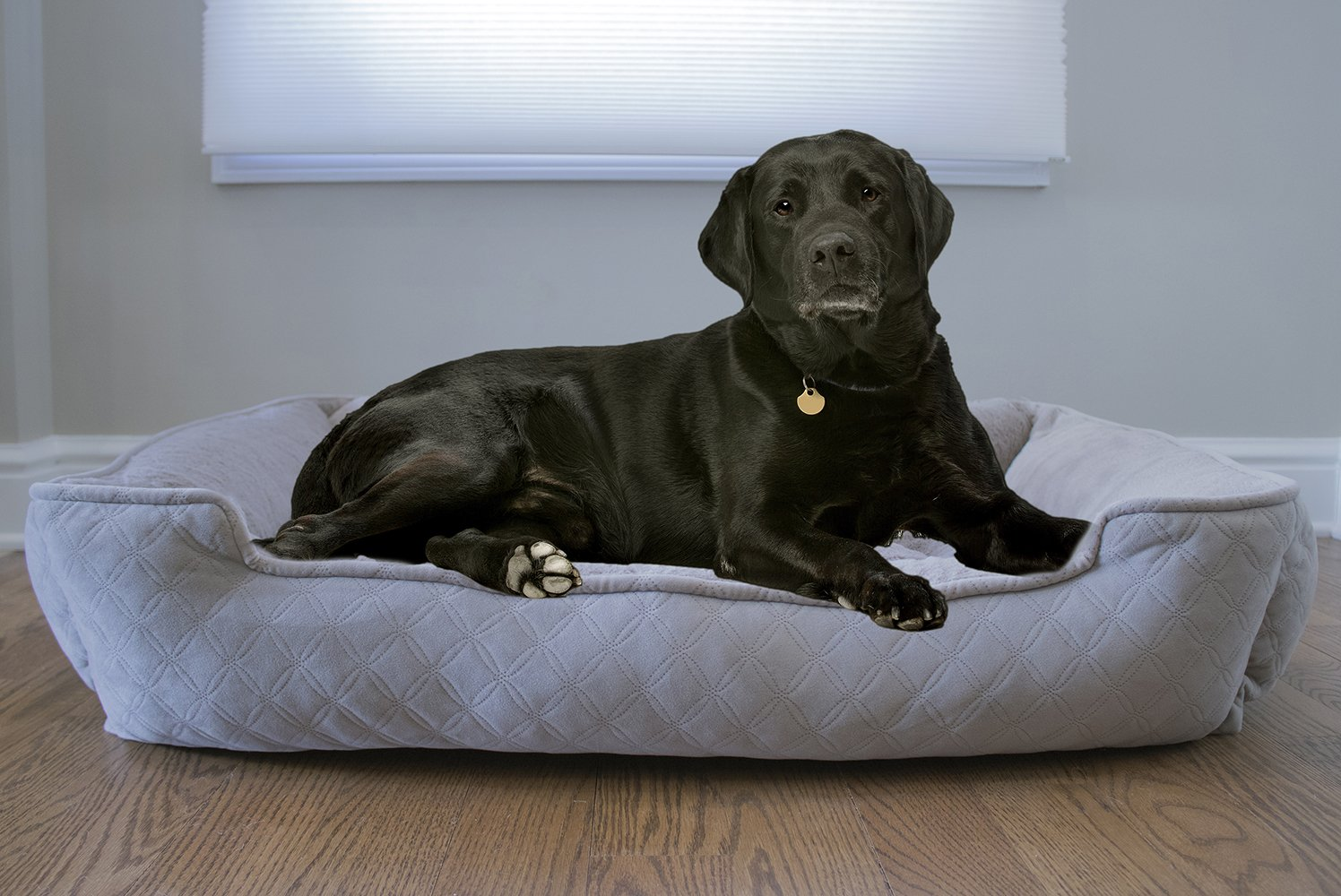 Arlee 59-01005CLS Cuddler Lounger and Cuddler Pet Bed, Large/X-Large, Cobblestone Taupe by Arlee (Image #1)