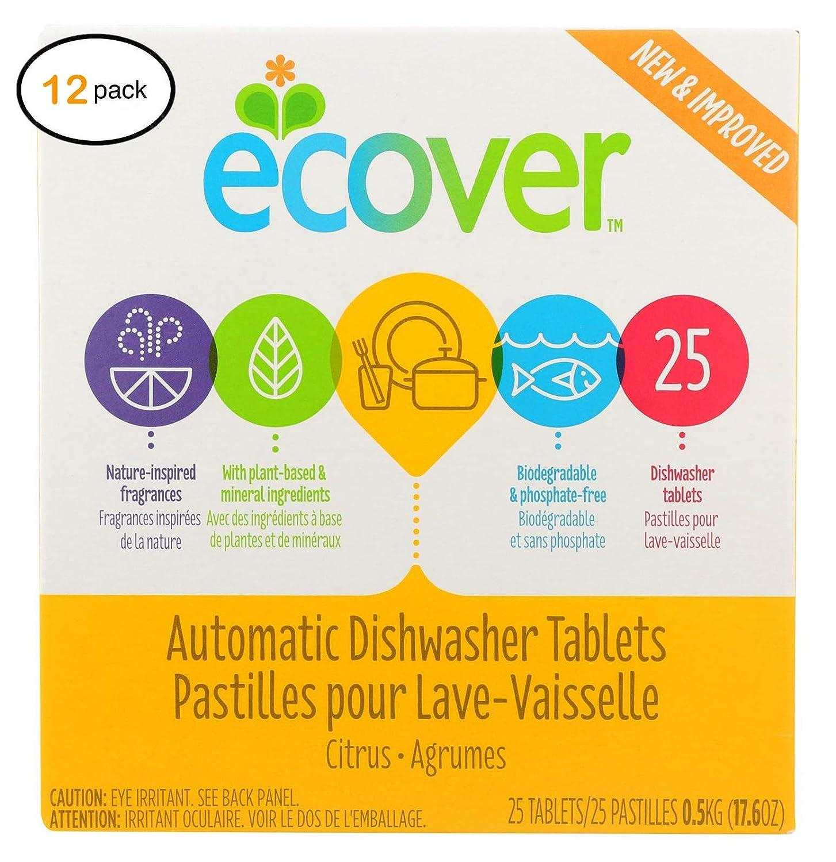 Ecоvèr - Pestañas para lavavajillas (12-17,6 onzas): Amazon ...