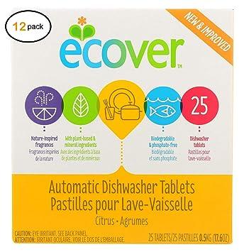 Ecоvèr - Pestañas para lavavajillas (12-17,6 onzas): Amazon.es ...