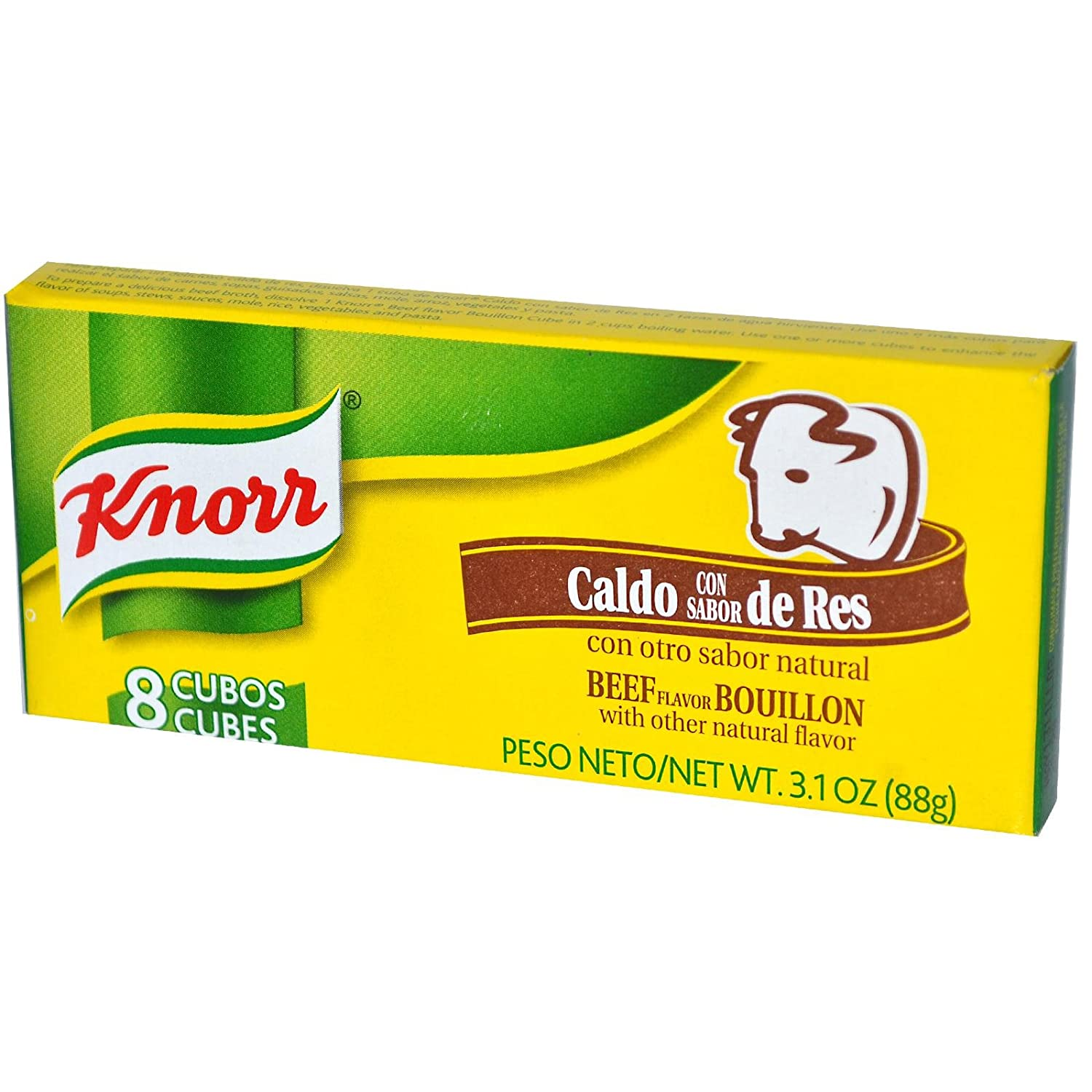 Knorr Bouillon Cubes, Beef, 8 ct