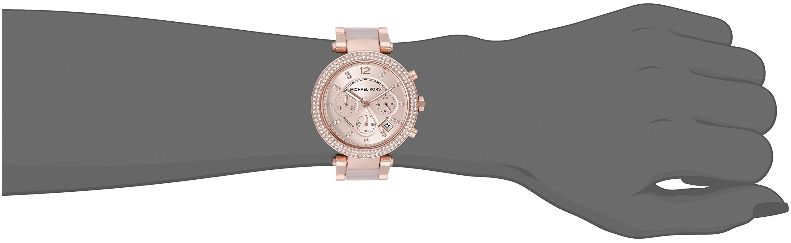 1dfeee17a57a Michael Kors Women s Parker Two-Tone Watch MK5896 - MK5896   Wrist Watches    Clothing