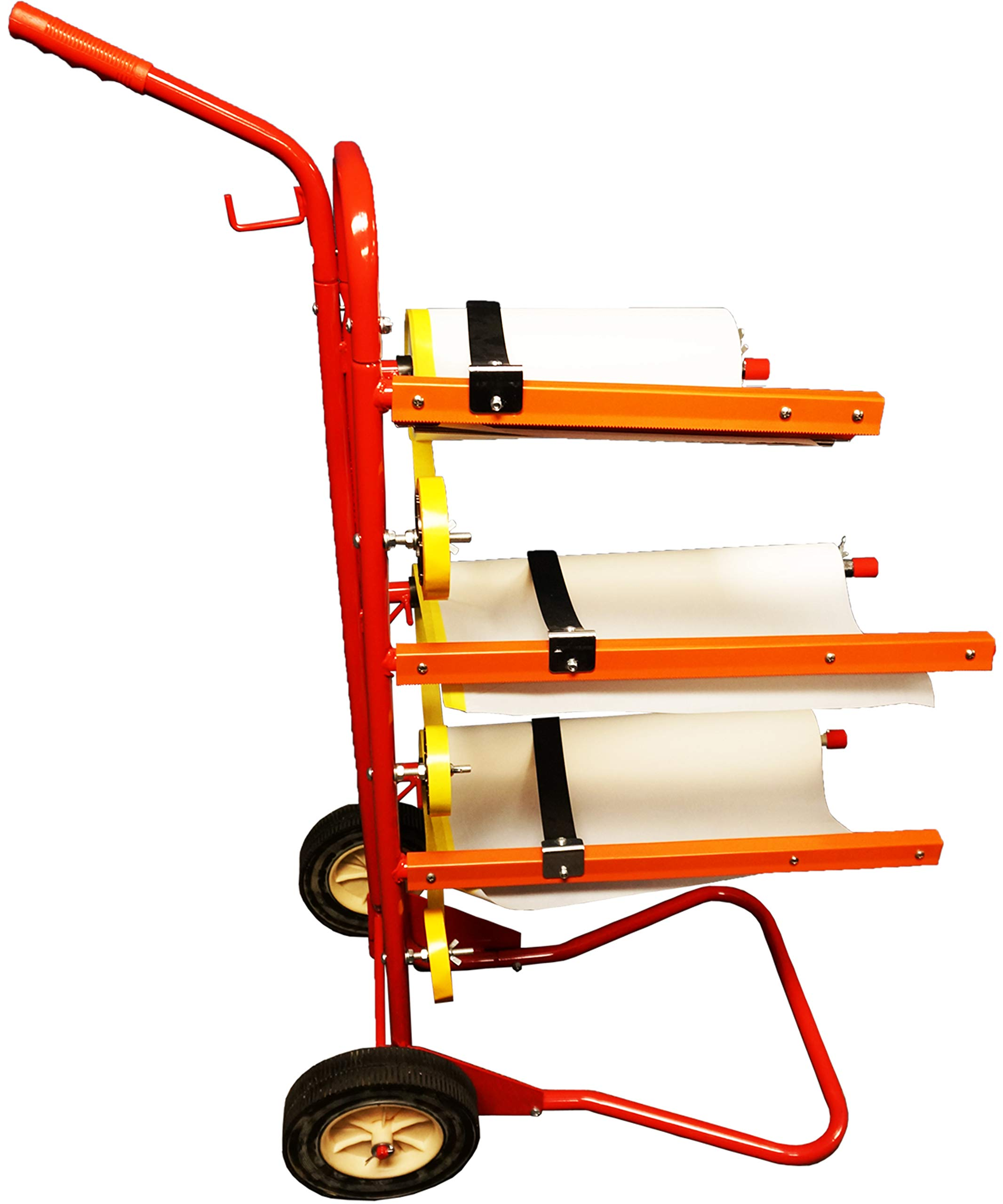 Reli. Mobile Masking Station, 3-Tier Multi-Roll, Heavy-Duty Steel, Easy Pull - Masking Tree, System for Masking Film or Masking Paper by Reli. (Image #1)