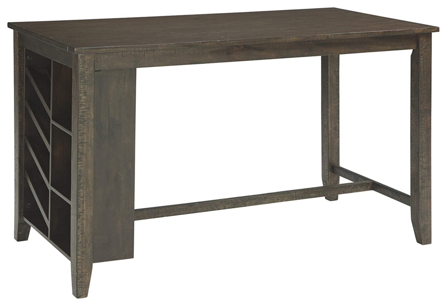 Signature Design by Ashley D397-32 Rokane Counter Height Dining Room Table Brown