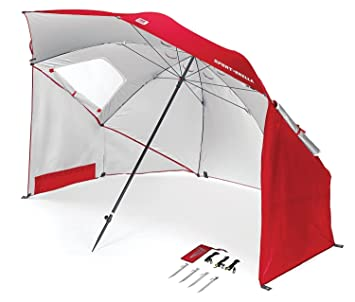 Sport-Brella Portable All-Weather and Sun Umbrella. 8-Foot Canopy (  sc 1 st  Amazon.com & Amazon.com : Sport-Brella Portable All-Weather and Sun Umbrella. 8 ...
