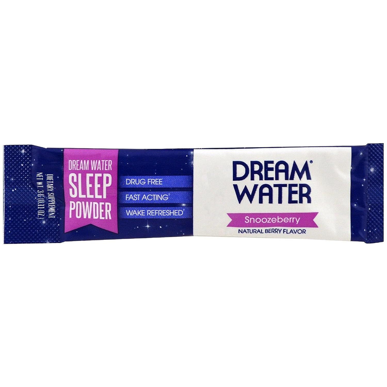 Sueño agua polvo de sueño, ayuda Natural para dormir, Gaba, Melatonina, Snoozeberry: Amazon.es: Deportes y aire libre
