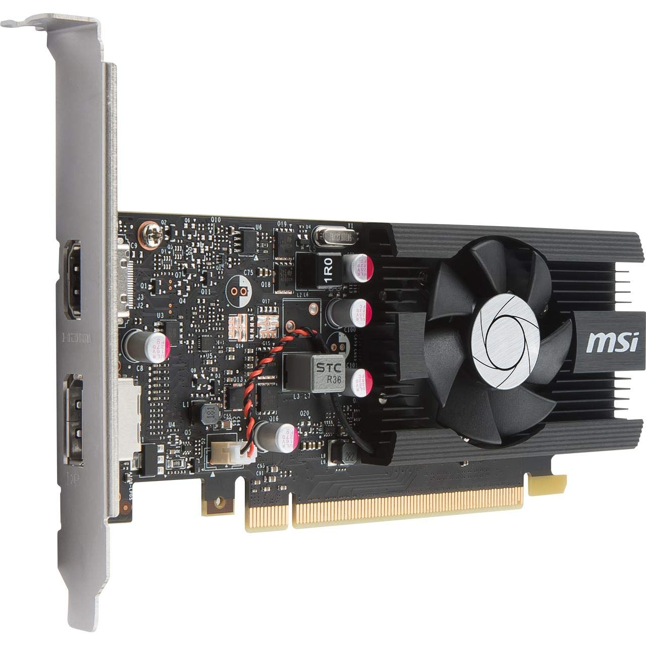 MSI GeForce GT 1030 2G LP OC GeForce GT 1030 2GB GDDR5 - Tarjeta ...