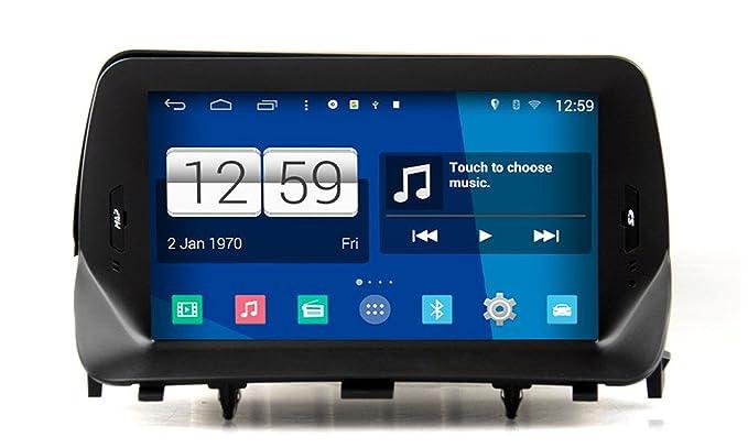 roverone Android Sistema 8 Inch Autoradio GPS para Opel Mokka, con sistema de navegación radio estéreo DVD Bluetooth SD USB pantalla táctil: Amazon.es: ...