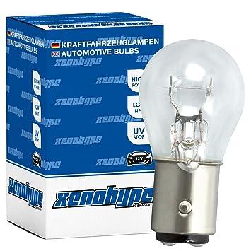 10x P21//5W XENOHYPE Premium BAY15d 24V 21//5 Watt LKW Kugellampe