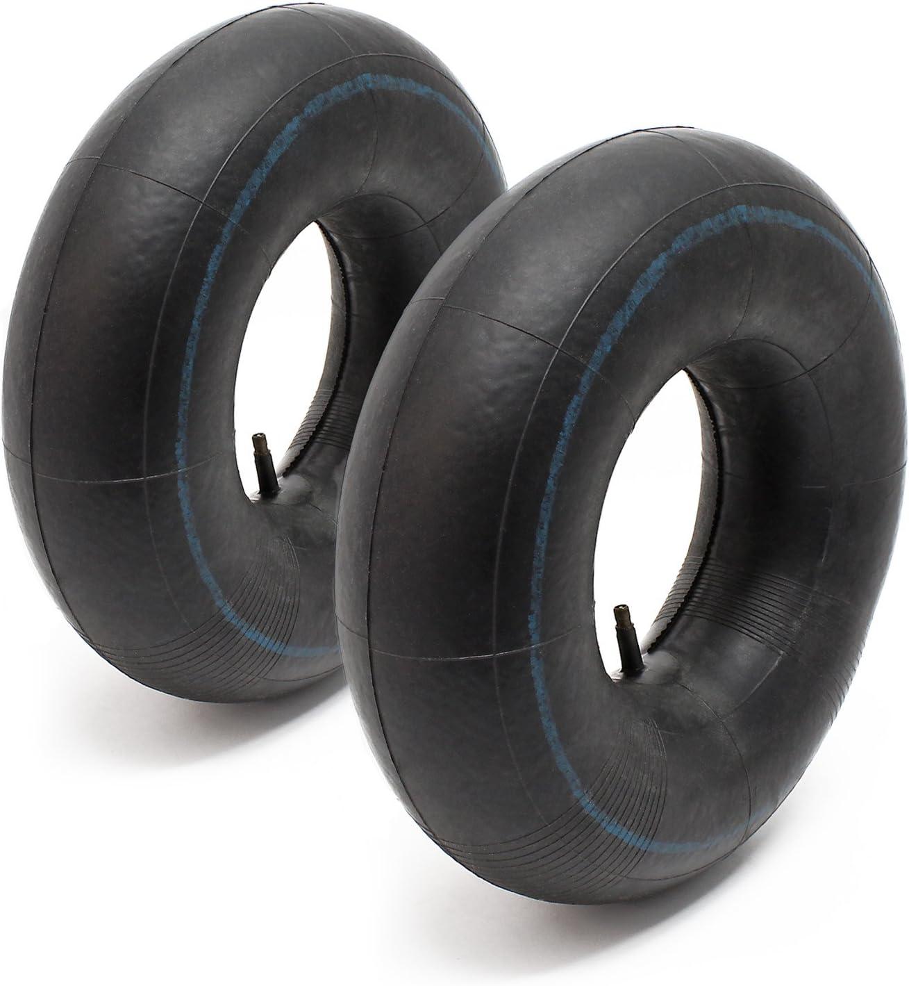 WilTec 2X cámara Aire Rueda segadora jardín cortacésped podadora 18x6.50-9.50-8 20x8.00-10.00-8