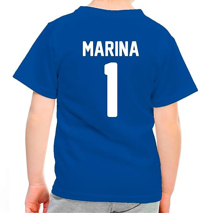 Lolapix Camiseta seleccion de Futbol Personalizada con Nombre y número. Camiseta de algodón para niños. Elige tu seleccion. Francia: Amazon.es: Hogar