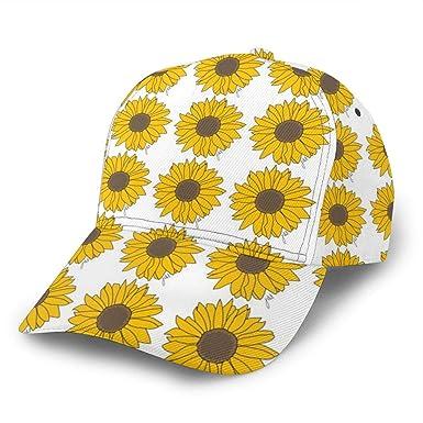 Liliylove Sunflower Power Gorra de béisbol Ajustable para Mujer y ...