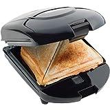 Bestron ADM2003Z 3in1 Snack Maker: Sandwich, Waffeln und Grill, schwarz