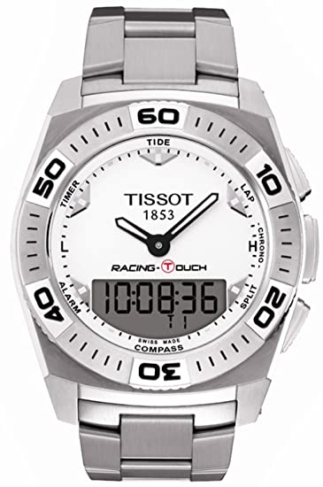 Para hombre reloj Tissot T0025201103100 T-Touch T-Touch Racing analógica Digital inoxidable: Amazon.es: Relojes