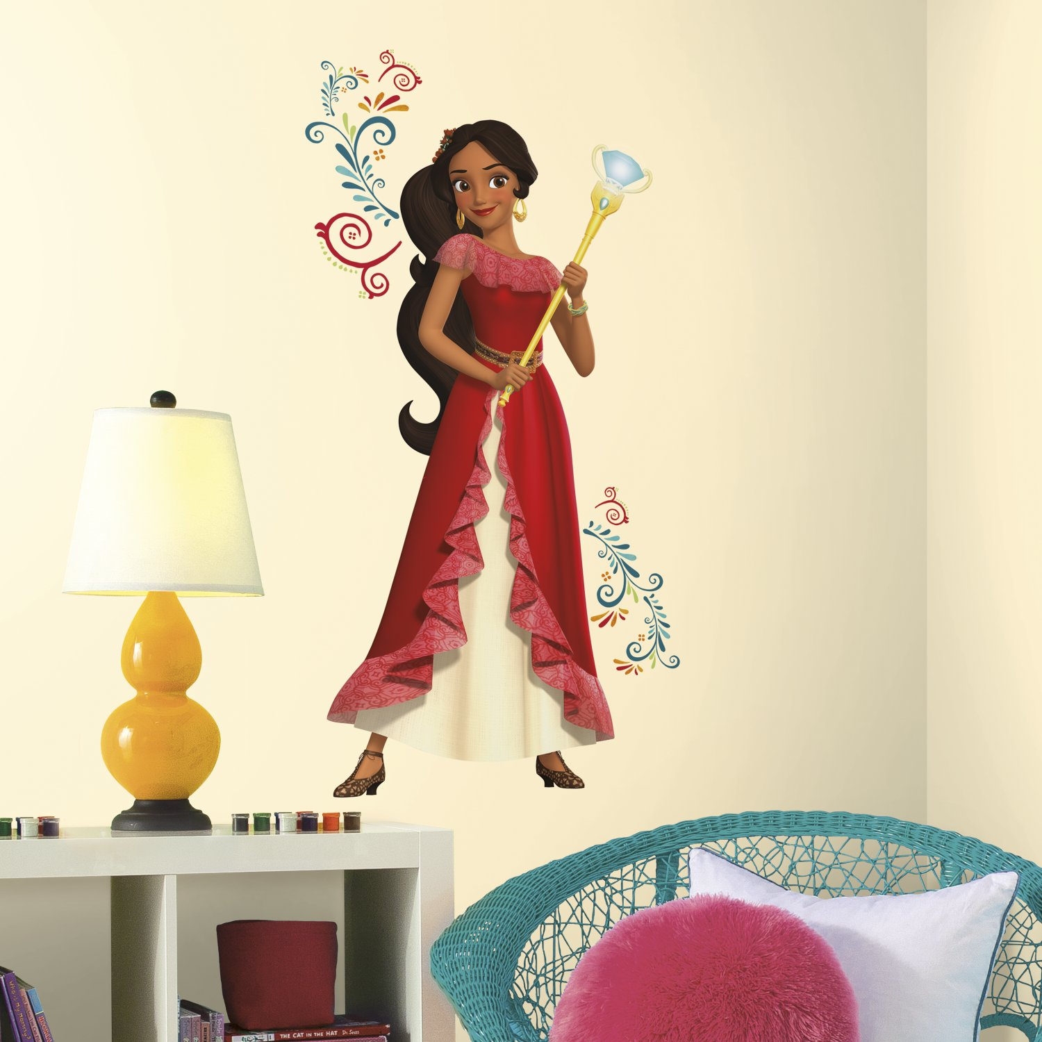 RoomMates RMKGM Princess Elena Of Avalor Giant Peel And Stick - Spongebob room decals