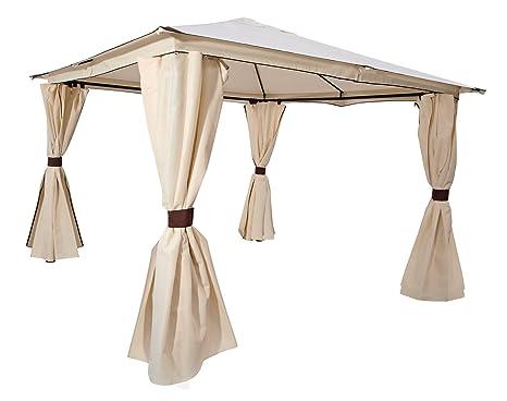 Sehr Amazon.de: Garten Pavillon VENEZIA 3x3m mit Seitenteilen, Dach NC28