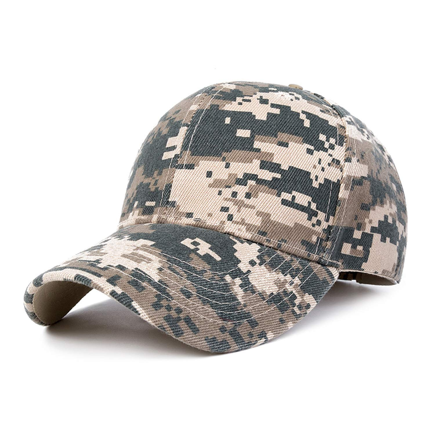 Men Summer Mesh Cap Tactical Camouflage Hat for Men Women Dad Hat Caps at Amazon Womens Clothing store: