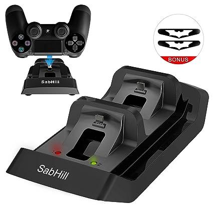 Amazon.com: driver de PS4 Cargador, Dual USB Charging Dock ...