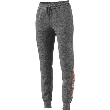 adidas Damen Essentials Linear Fleece Hose