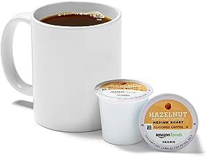 AmazonFresh 12 Ct. K-Cups, Hazelnut Flavored Medium Roast, Keurig K-Cup Brewer Compatible