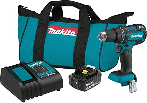 Makita XFD061 18V LXT Lithium-Ion COMPACT Brushless Cordless 1 2 Driver-Drill Kit 3.0Ah