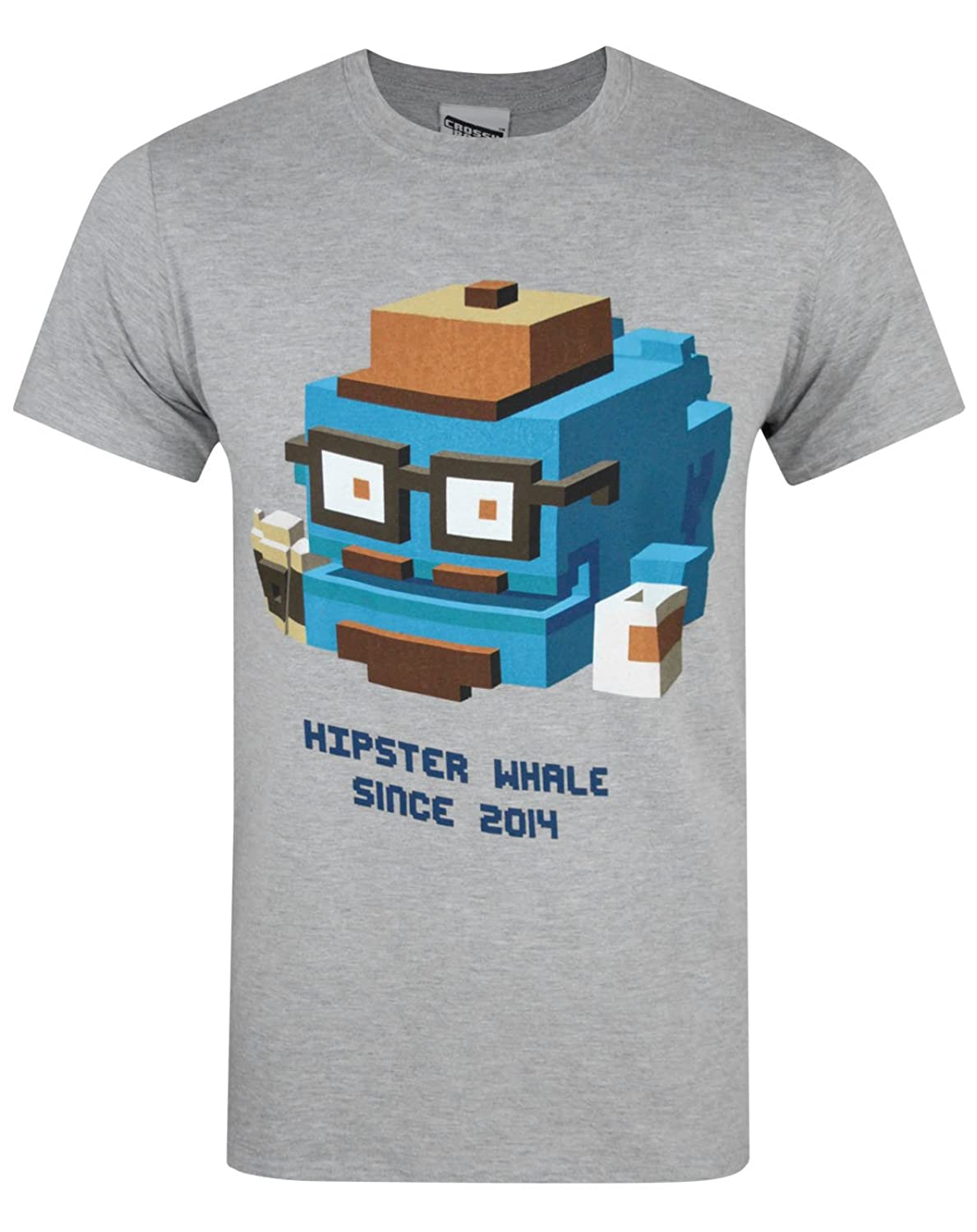 Amazon Crossy Road Hipster Whale Men s T Shirt Clothing