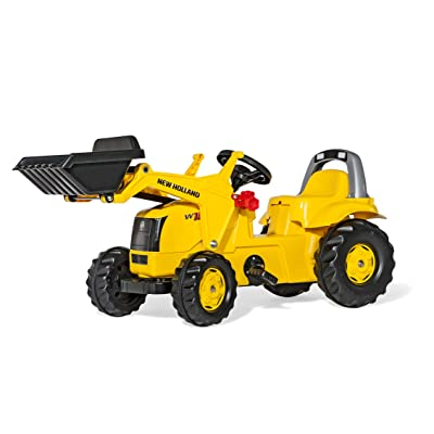 Rolly Toys New Holland Kid Tractor with Front Loader: Toys & Games