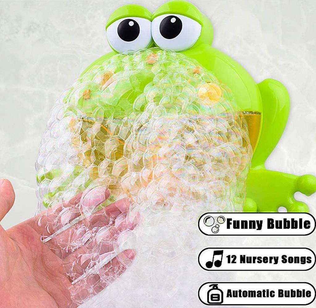 Cangrejo Juguetes del Ba/ño Maquina Burbujas Ba/ñera Portatil con 12 M/úsica y Burbuja Autom/ática para Ducha de Ni/ños Ba/ño de Burbujas Sunshine D M/áquina de Burbujas de Ba/ño para Beb/és