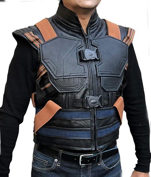 Men's Synthetic Panther amp;h Erik F Leather Black Killmonger Avengers 5qFwB