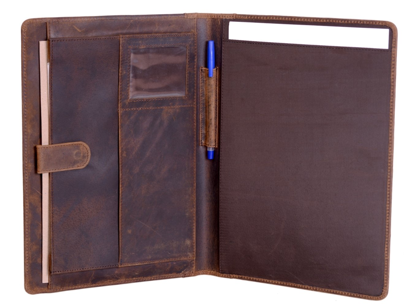 Amazon Com Handmade Leather Business Portfolio By Rustic Town