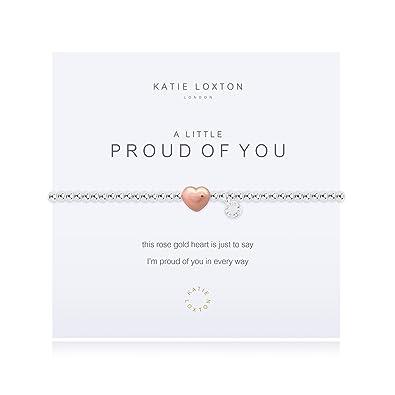 6a351c2dbe2e6 Katie Loxton - A Little Proud Of You - Silver & Rose Gold Bracelet