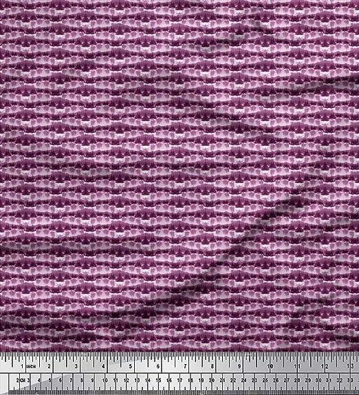 Soimoi Purpura popelina de algodon Tela Árbol tela de camisa tela estampada de costura de tela 56 Pulgadas de ancho: Amazon.es: Hogar