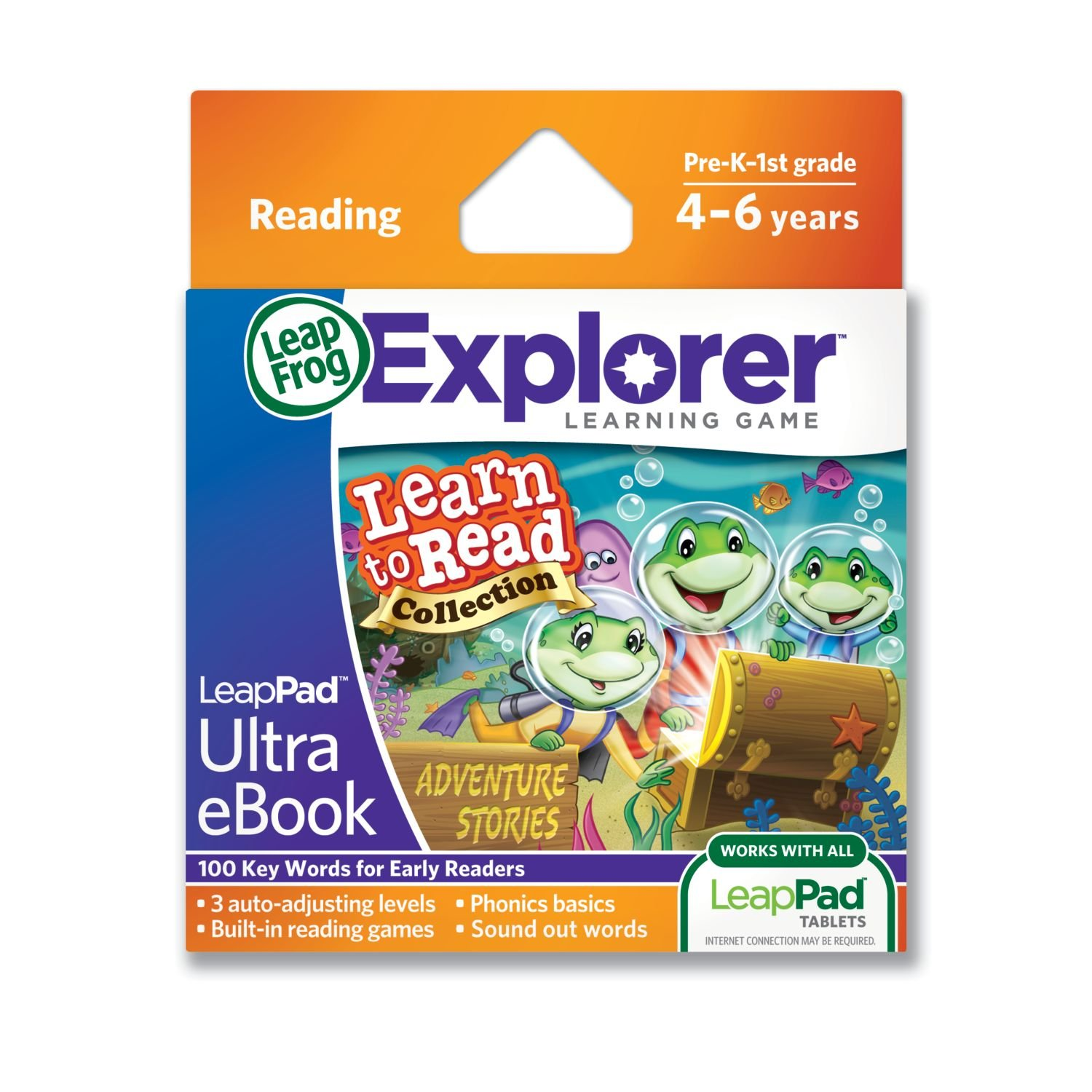 Amazon: Leapfrog Leappad Ultra Ebook Learn To Read Collection:  Adventure Stories (works With All Leappad Tablets): Toys & Games