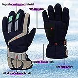 Children Ski Waterproof Gloves Winter Warm Outdoor