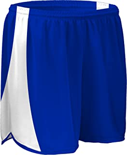 product image for PT-687Y-CB Youth Dry Fit 4 Inch Track Short with White Side Panels with Matching Inner Brief-Colors Include Black, Red, Navy and Royal Blue-Sizes-Sizes SM-XXXL (Youth Medium, Royal/White/Royal)