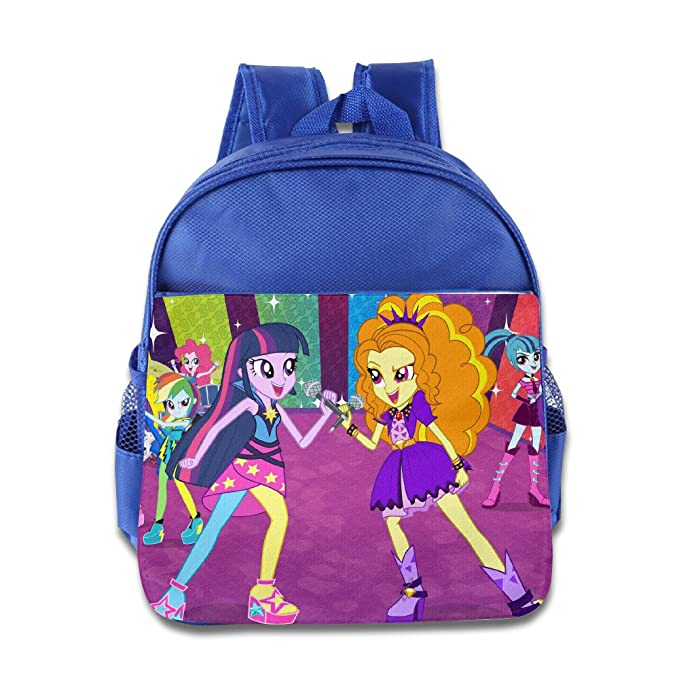 My Little Pony Equestria Girls Arcoíris Rocas niños escuela mochila Bolsa: Amazon.es: Hogar