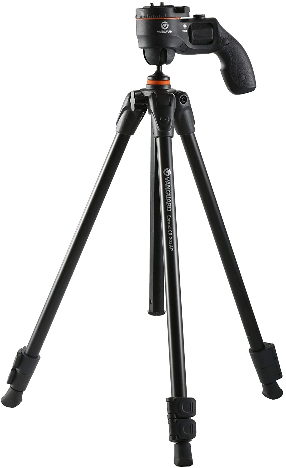 Vanguard Aluminium Tripod Espod CX 203 AGH With PISTOL GRIP BALL HEAD